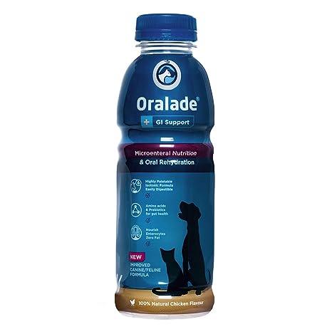 Bebida hidratante para perros y gatos Oralade