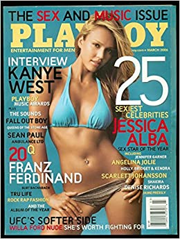Playboy Magazine, March 2006: Hugh M. Hefner