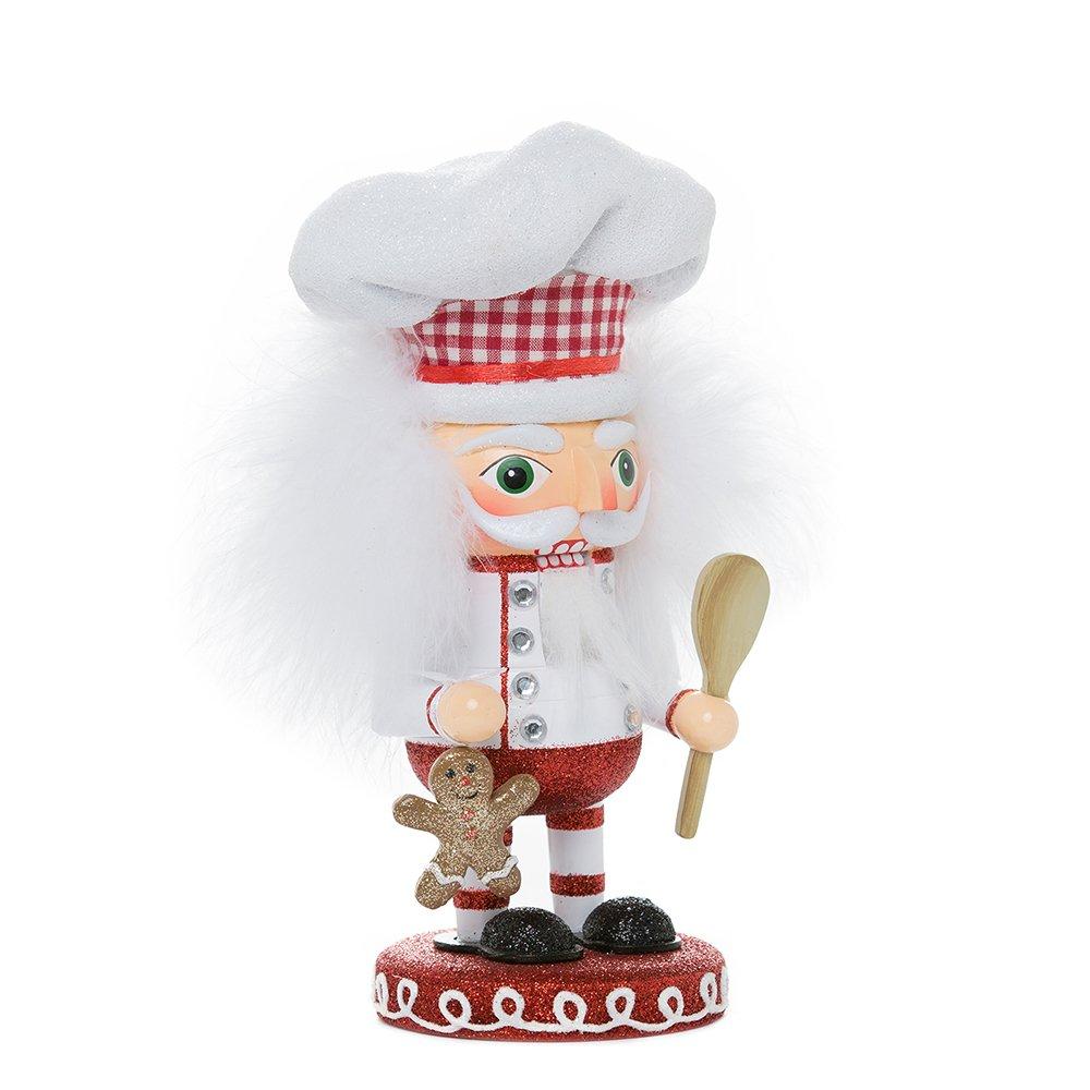 Kurt Adler HA0336 8'' Hollywood Gingerbread Chef Nutcracker