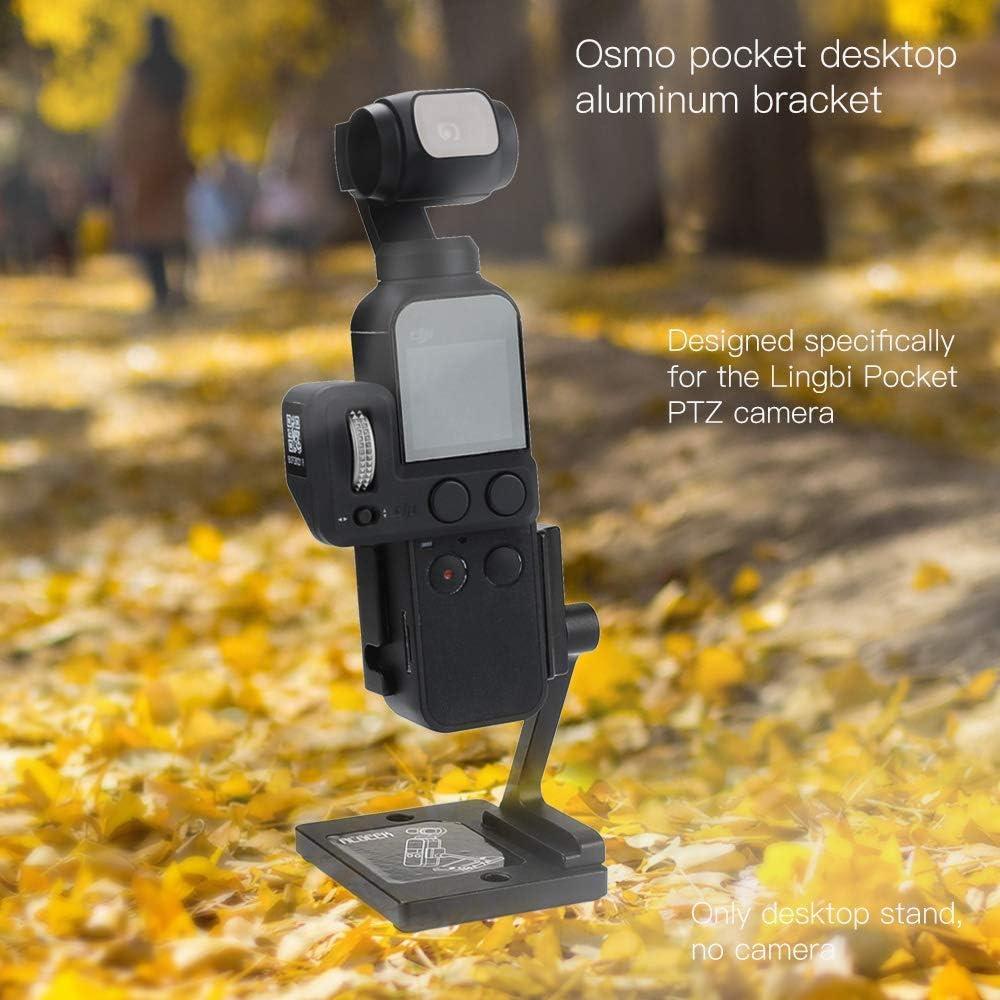 OAMO Pocket Desktop Base Stand Adjustable Shooting Angle Holder Stabilizer for DJI OSMO Pocket Handheld Gimbal Mount Accessories