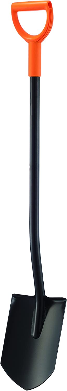 Arcadius Garden 47 Inch Steel D-Handle Round Digging Shovel Garden Digging Shovel