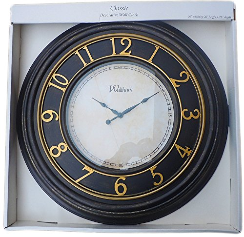 Waltham Classic Decorative 20 Wall Clock