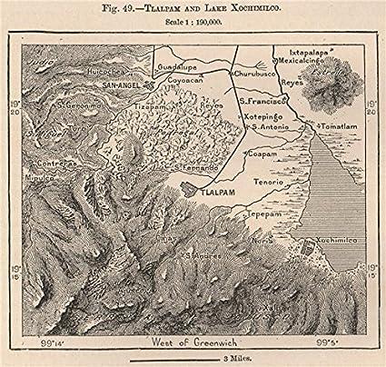 Amazoncom Tlalpan Lake Xochimilco San Angel Mexico City 1885