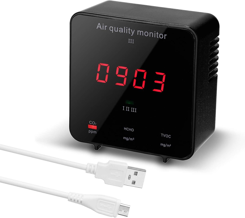 Detector de calidad de aire Leeofty por 20,59€ con el #código: LWXZ9ESY