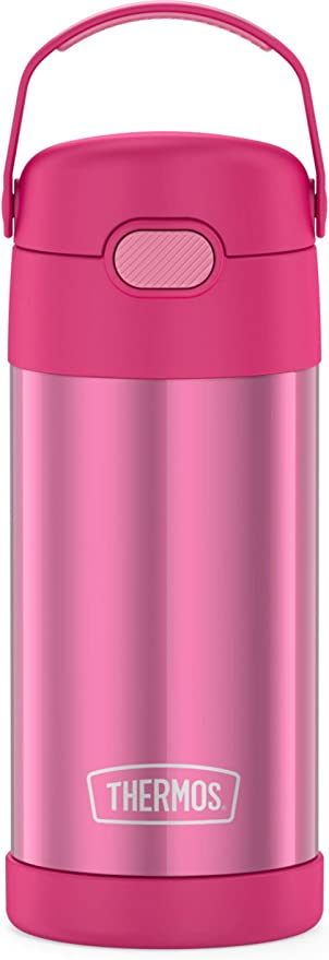Kid/'s Funtainer Vacuum Insulated Stainless Steel Water Bottle Thermos 12 oz