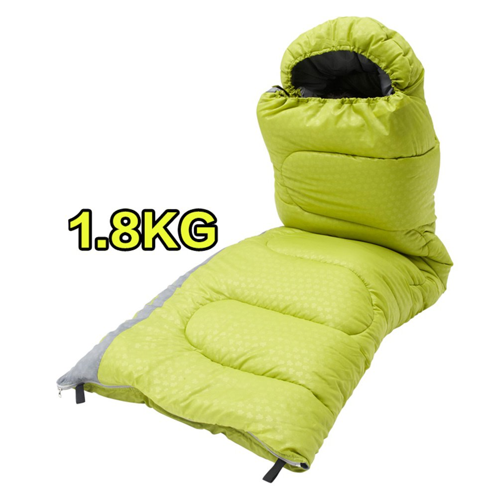 Natural 1.8kg Outdoor Adult Sleeping Bag Portable Keep Warm Spring Summer Double Travel Camping Anti Dirty Individual Hotel