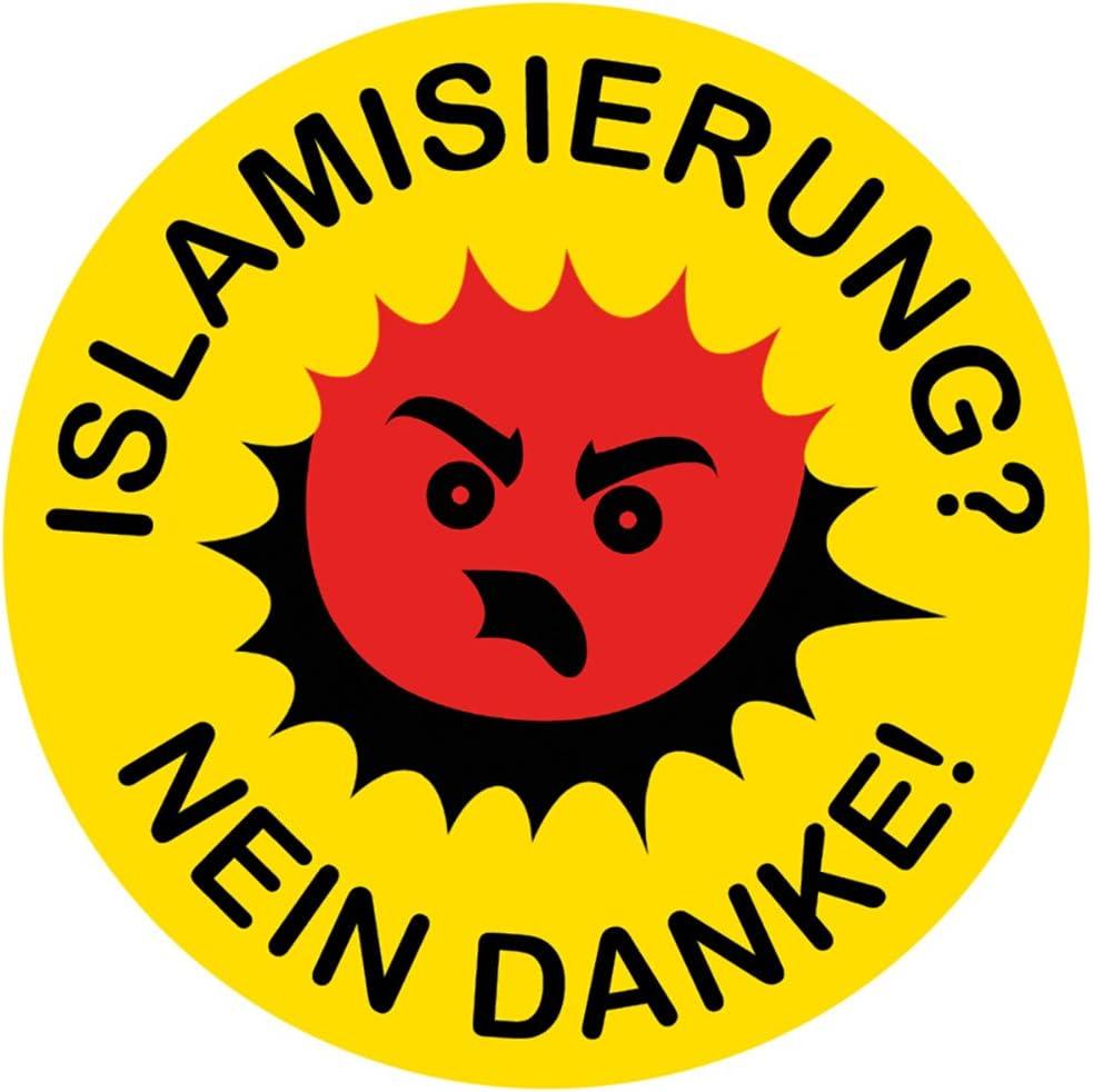 Aufkleber Sticker Islamisierung Nein Danke Sticker Set 10 Stück Auto