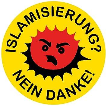 Aufkleber Sticker Islamisierung Nein Danke Sticker Set 10 Stück