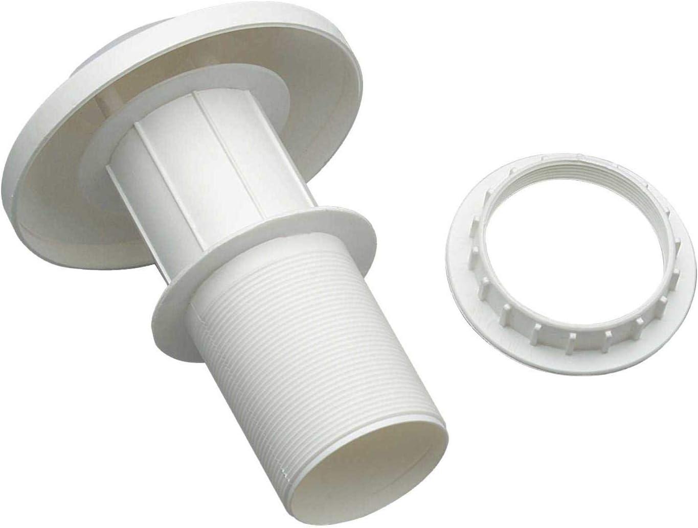 Chimenea de plástico con forma de seta para campanas extractoras o ventilación de 60 mm de diámetro para caravanas y autocaravanas: Amazon.es: Coche y moto