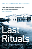 Last Rituals: Thora Gudmundsdottir Book 1 (Thóra Gudmundsdóttir Crime Series) (English Edition)