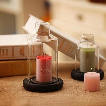 Wmshpeds Europaischer Stil Deck Kerzen Glas Verzierungen Romantik