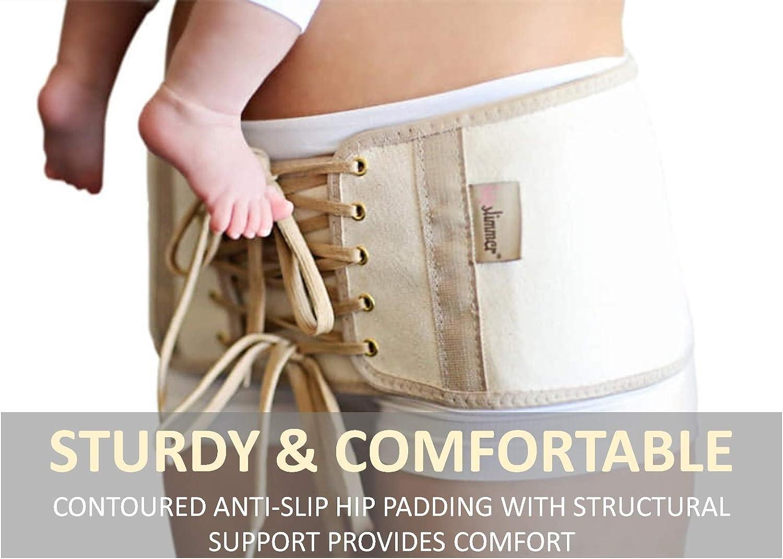 Amazon Com Hipslimmer Hip Compression Adjustable Postpartum Belt Hips Shrink Trainer Binder Clothing