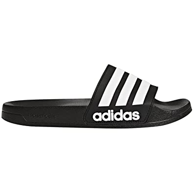 12a9953bec701 adidas Jungen Cf Adilette Dusch-  Badeschuhe  Amazon.de  Schuhe ...