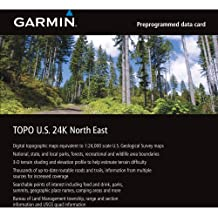 Garmin TOPO! 2009 Northeast U.S. Map microSD Card