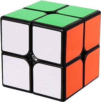 ROXENDA Speed Cube, Cubo de Velocidad 2x2x2 - Torneado Rápido y ...