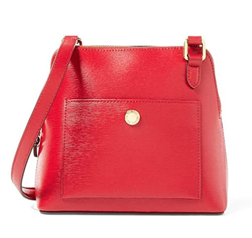 b83630a939f Image Unavailable. Image not available for. Color  LAUREN Ralph Lauren  Women s Newbury Bailey Dome Crossbody Red Handbag