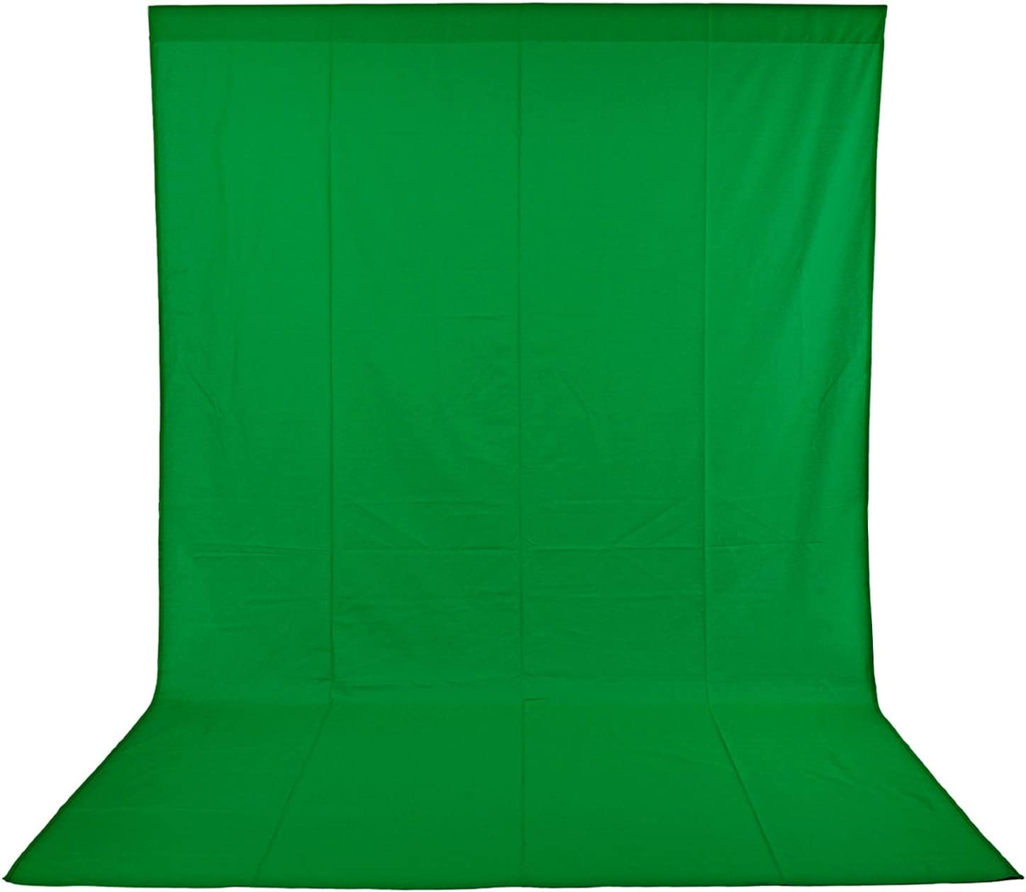 Neewer 10 x 12FT / 3 x 3.6M PRO Photo Studio 100% Pure Muslin Collapsible Backdrop Background for Photography,Video and Televison (Background ONLY) - GREEN