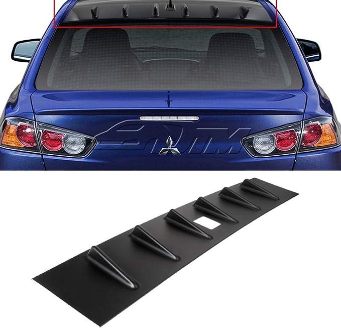 ECCPP ABS Spoiler Wing Unpainted Rear Trunk Spoiler Wing Replacement fit for Mitsubishi Lancer 4-Door 2.0L DE Sedan