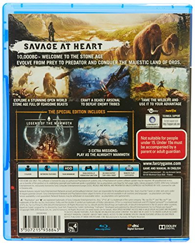 Far Cry Primal Special Edition Playstation 4 (PS4) - PlayStation 4