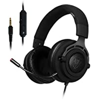N9 PS4 Gaming Headsets.PC Game Earphones.Fabric Lightweight, Noise Cancelling Mic.Detachable Microphone.Xbox One Game Headphones.Over the Ear Surround Sound with Microphone Switch Stereo Bass. Compatible with PS4, Xbox One, PC, laptop, Mac, tablet, mobile phone
