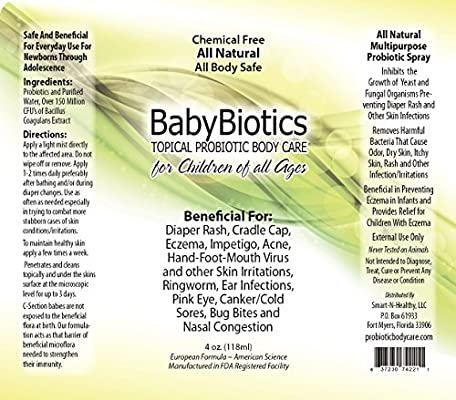 BabyBiotics - Topical Probiotic Body Care for Children of All Ages