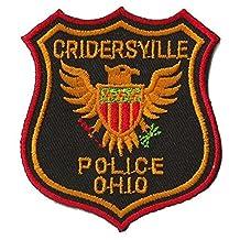 Patche écusson thermocollant Police Ohio