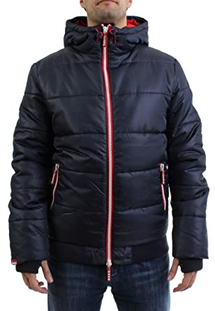 Red Jacke Sport Puffer Navy Bright Polar Men Superdry OuPkXZi