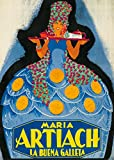 Maria Artiach Vintage Poster Spain c. 1930 (12x18 Art Print, Wall Decor Travel Poster)