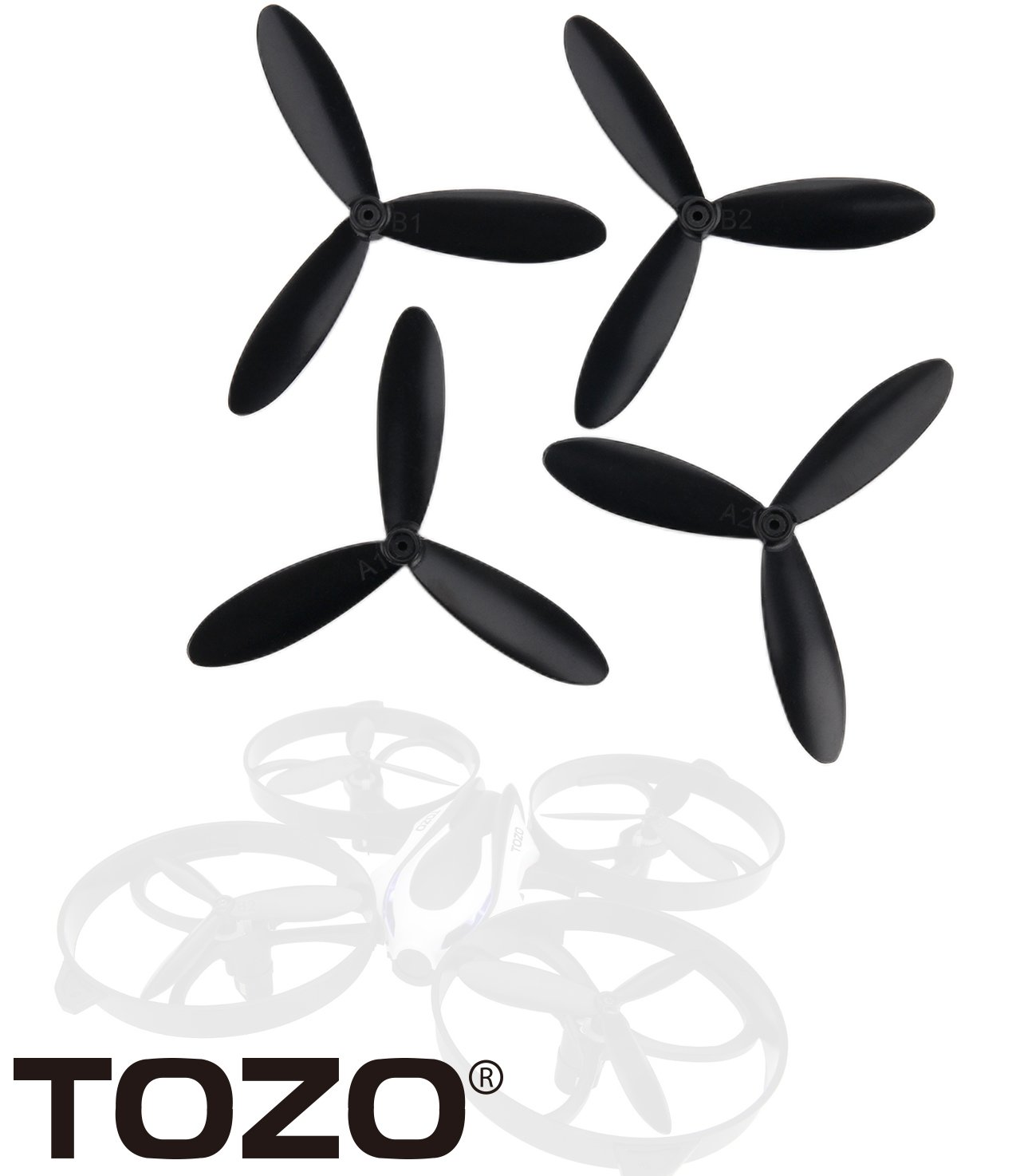 TOZO Q2020-03 Propeller for Q2020 i3 Drone RC Quadcopter Remote ...