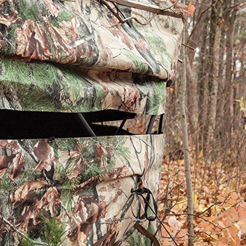 Barronett Blinds BX550BW Ox 5 Pop Up Portable 5-Sided Hunting Blind, Backwoods Camo by Barronett Blinds (Image #2)