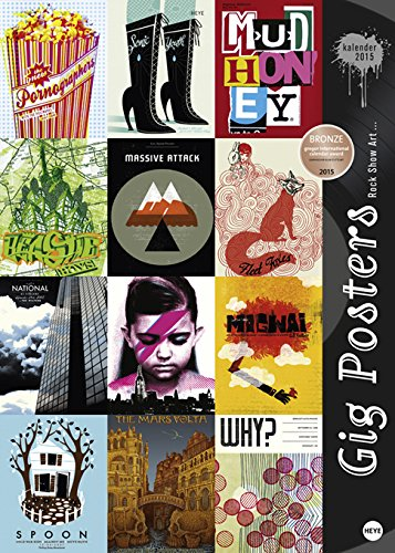 Gig Posters Edition 2015