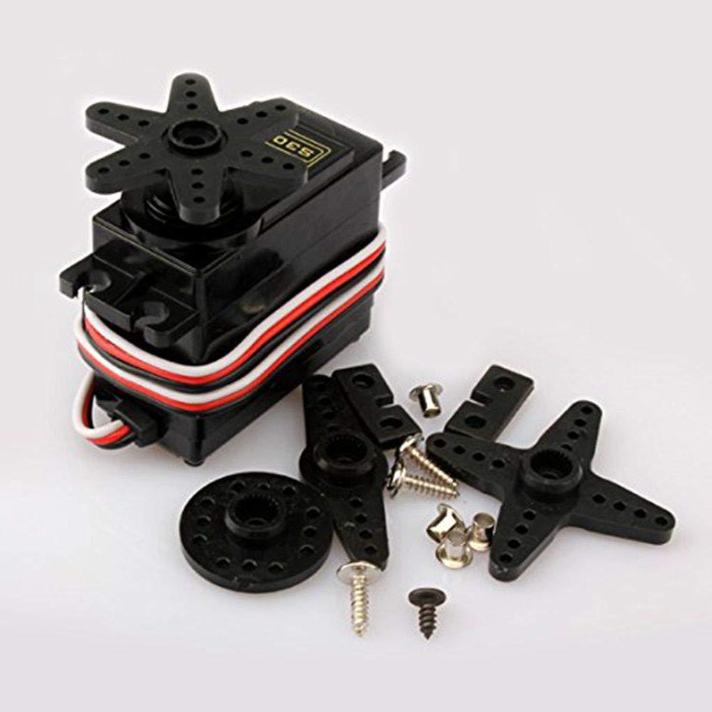 S3003 Standard Universal Power Servo Compatible pour RC Cars Bateau Avion V/éhicule Robot Servo Meisijia