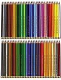 Polycolor Koh-I-Noor Lot de 72 crayons de couleur haut de gamme