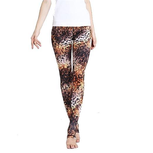 Zgsjbmh Pantalones de Yoga Europa y Estados Unidos Step Foot Yoga ...