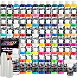 74 COLOR CREATEX COLORS PAINT SET-Airbrush-Hobby-Craft
