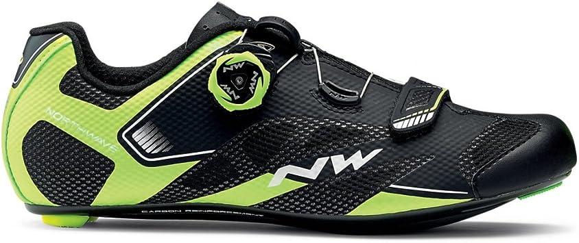 Zapatillas de bicicleta de carretera Northwave Sonic 2 Plus Black ...