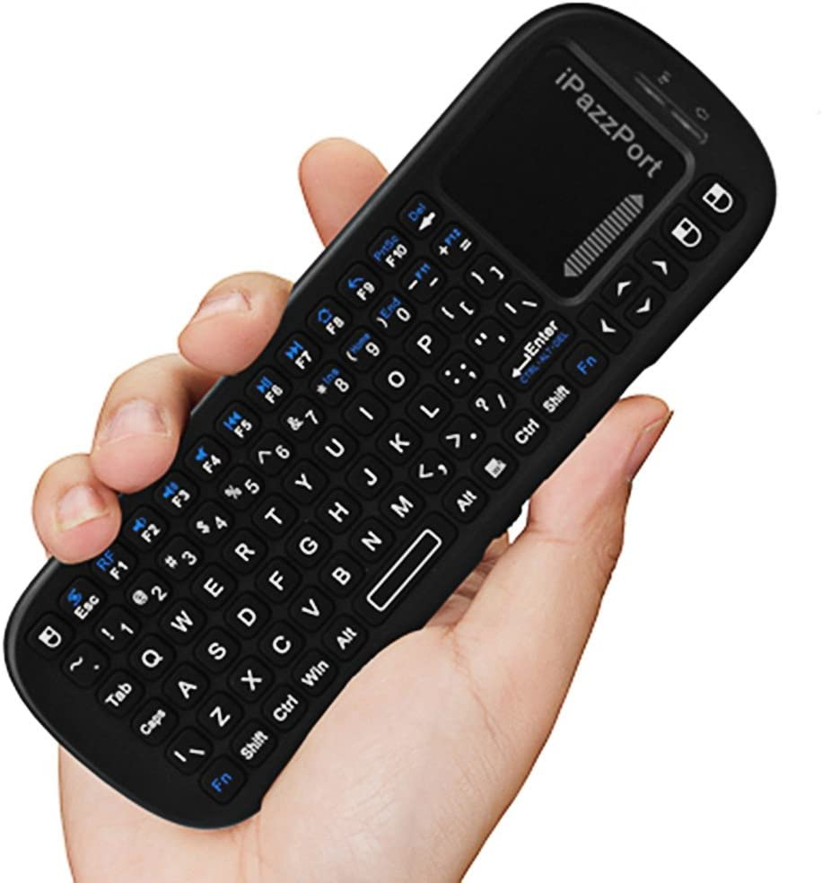 KP 810-19S 2.4GHz Mini Wireless Air Mouse Handheld QWERTY Keyboard