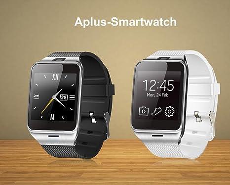 Dokpav® KING-WEAR GV08 Reloj inteligente Smartwatch plurilingüe ...
