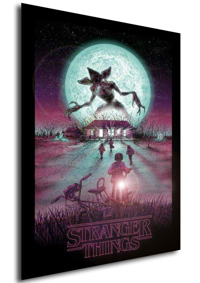 Instabuy Stranger Things Posters Vintage 11 - A3 (42x30 cm ...