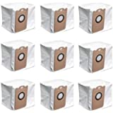 9 Pack Leakproof Dedicated Large Capacity Dust Bags for Proscenic M7 Pro Vacuum Cleaner Accessory