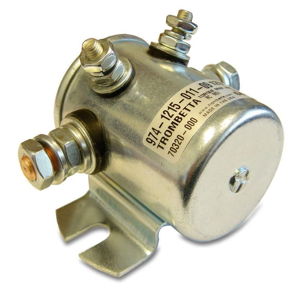 Trombetta 974-1215-011-09 Metal DC Contactor 12 Volt