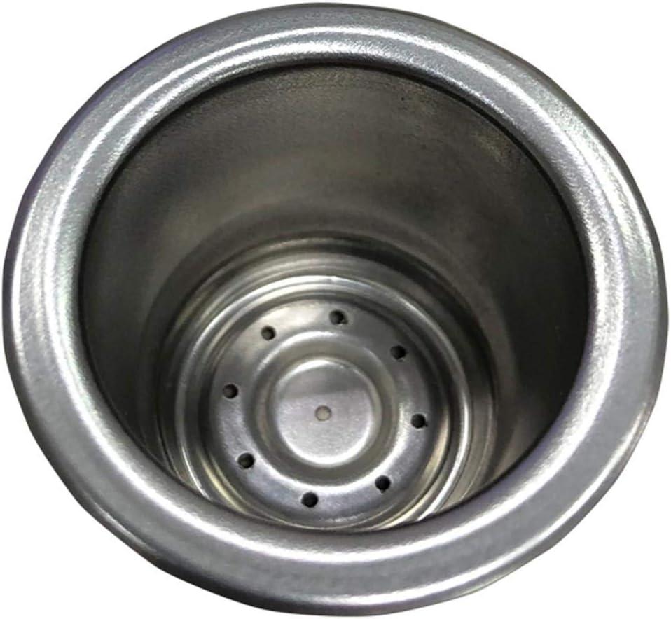 in acciaio inox Starnearby Capsula di caff/è riutilizzabile ricaricabile con pressa filtro per caff/è Nespresso 36.70 * 36.70 * 25.00 3pcs
