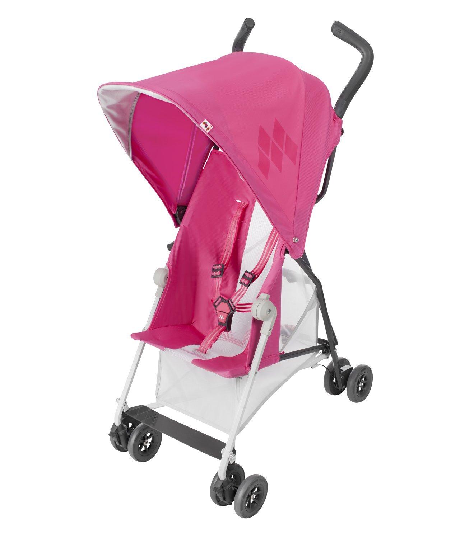 Maclaren Mark II Stroller - Carmine Rose - One Size