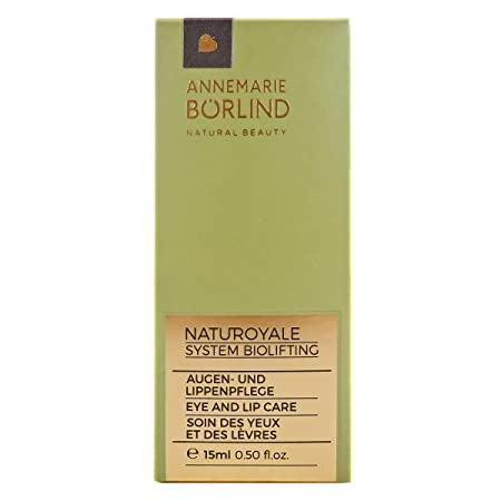 Annemarie Borlind NatuRoyale Biolifting Eye And Lip Contour 0.5oz, 15ml