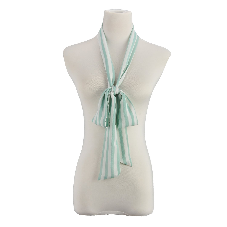 Ladies Long Skinny Scarf Knot Neck Belt Headwrap Bow Many Ways