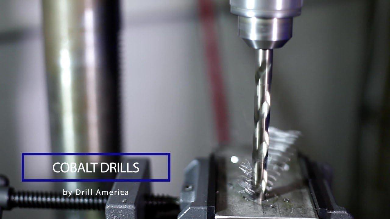 1//2 Shank Qualtech 1-5//16 Reduced Shank Cobalt Drill Bit DWDCO1-5//16