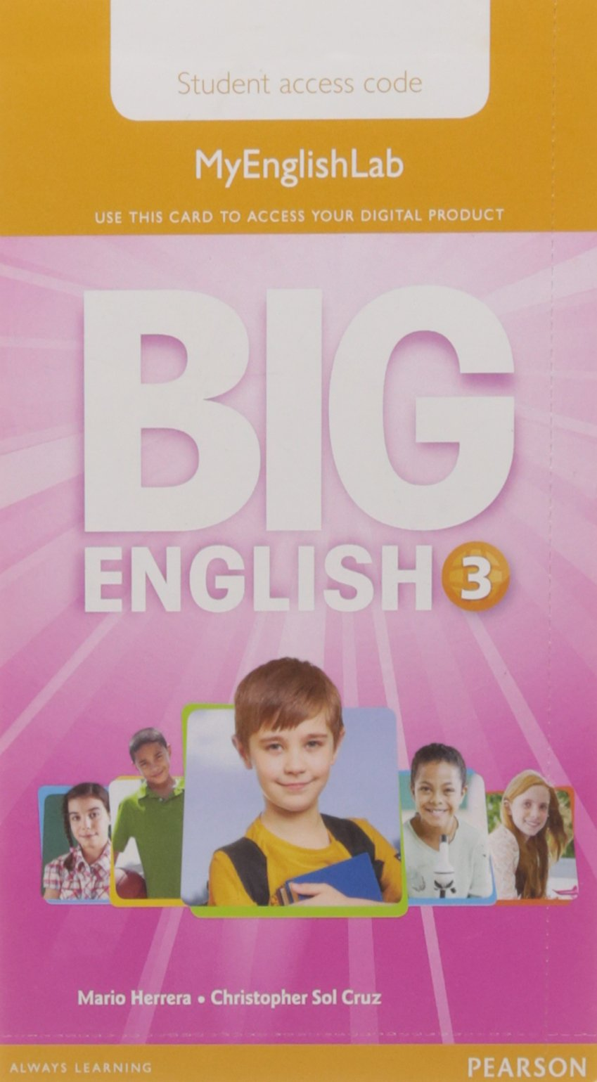 Read Online Big English 3 Pupil's MyEnglishLab Access Code (standalone) pdf