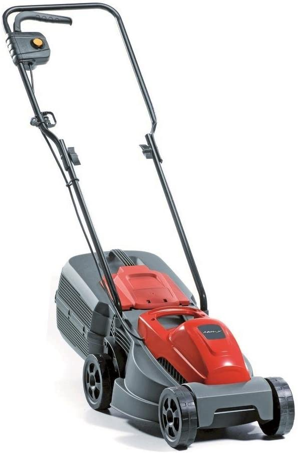Alpina 293300063/14 Cortacesped Electrico E 300, 1000 W, Rojo, Ancho de Corte 30 cm, Sacco di raccolta 25 litri, 230 V