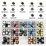 tactile switch 70pcs 14Value 7 Colors Panel PCB Momentary Tactile Tact Push Button Switch 4 Pin DIP and SMD