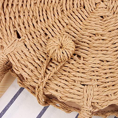 Bandoulière Pour Sac usage Straw M Multi Portable Femme À Coafit nPUEaCPq